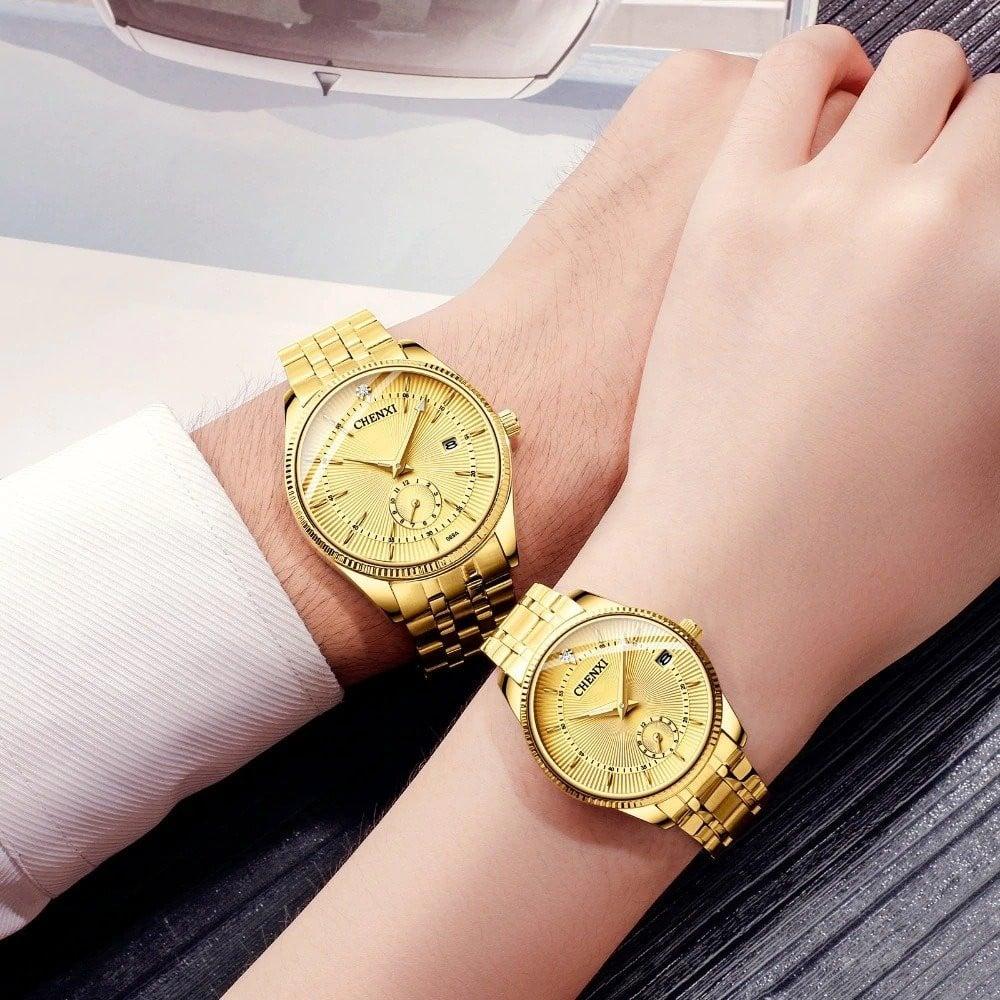 ساعة يد للرجال و النساء من CHENXI