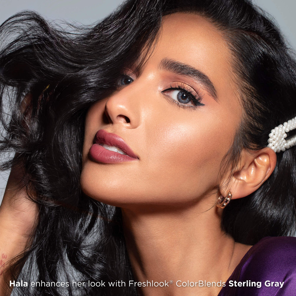 Freshlook Colorblends Sterling Gray