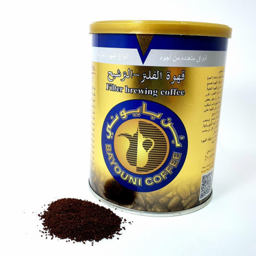 القهوة الإثيوبية المفلترة البلاك كوفي
