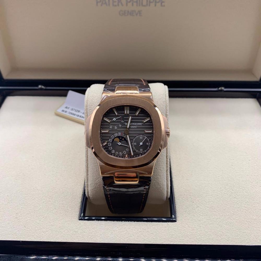 ساعة باتيك فيليب نوتلس الأصلية جديدة 5712R