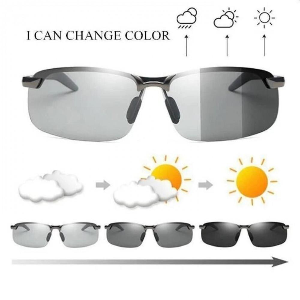نظارة شمسية وليلية متلونة حسب الأجواء