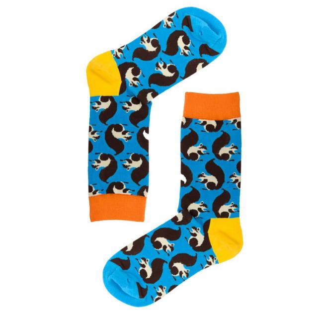 جوارب قطنية - تصميم مبدع لشراريب الحيوانات- جورب السناجب -  متجر أبوجي