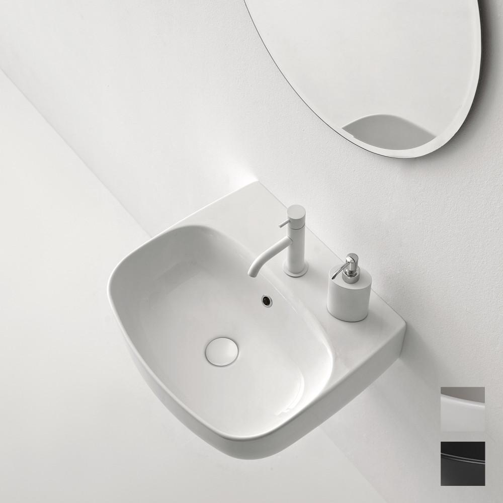 مغسلة نوليتا 50 عبارة عن مغسلة صممت في تصميم عصري حيث ان يمكن وضعها في