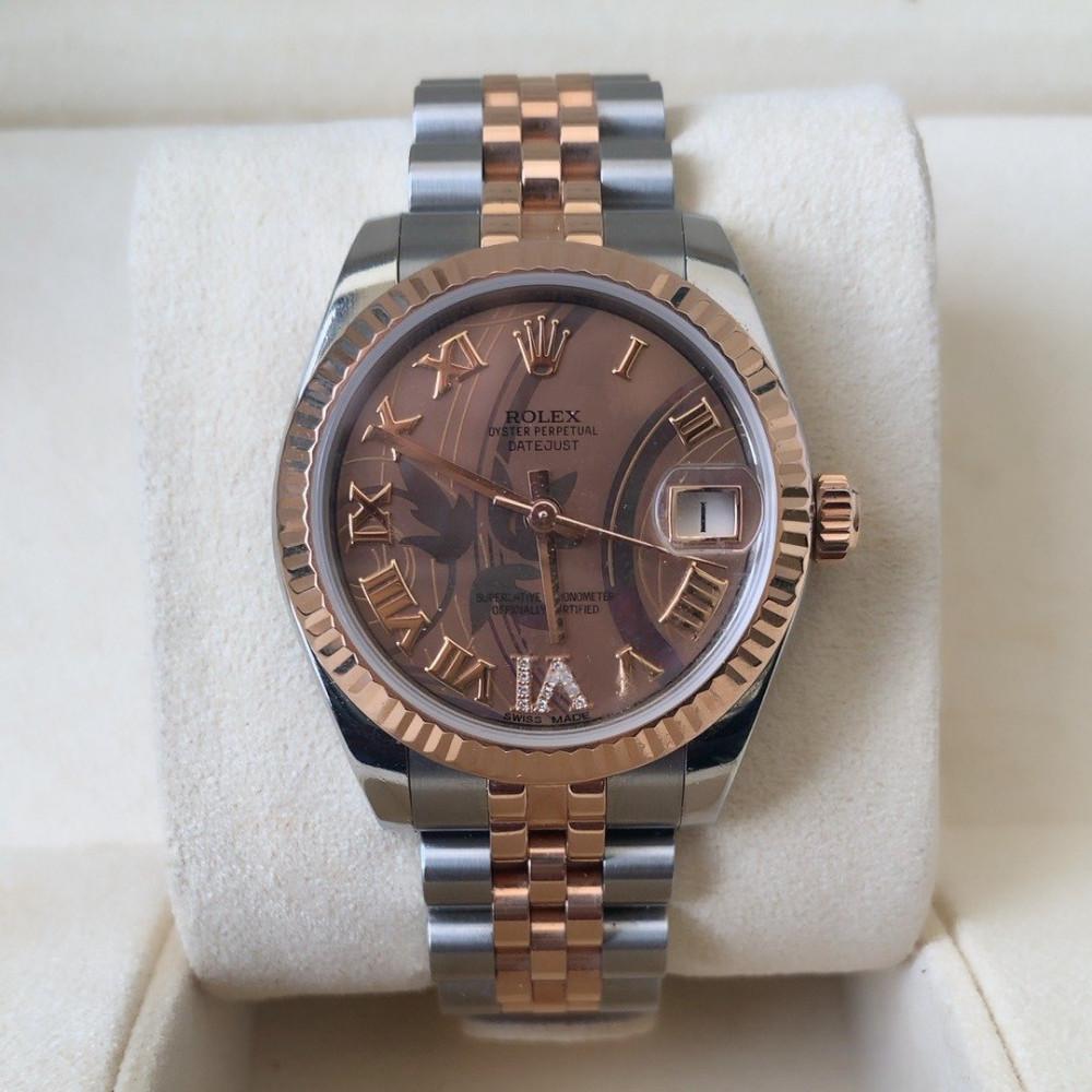 ساعة رولكس ديت جست الأصلية الثمينة مستخدمة 178271