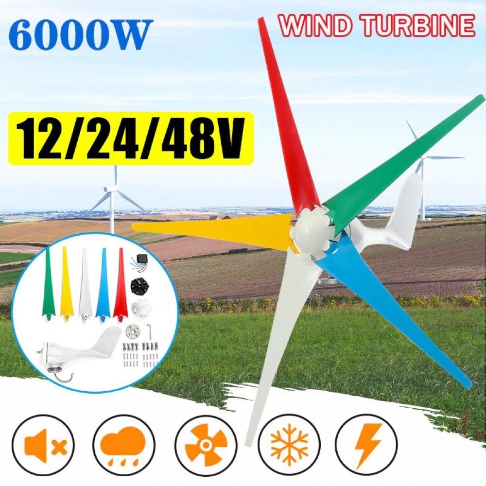 مولد طاقة كهربائية بواسطة الرياح لوحة تحكم