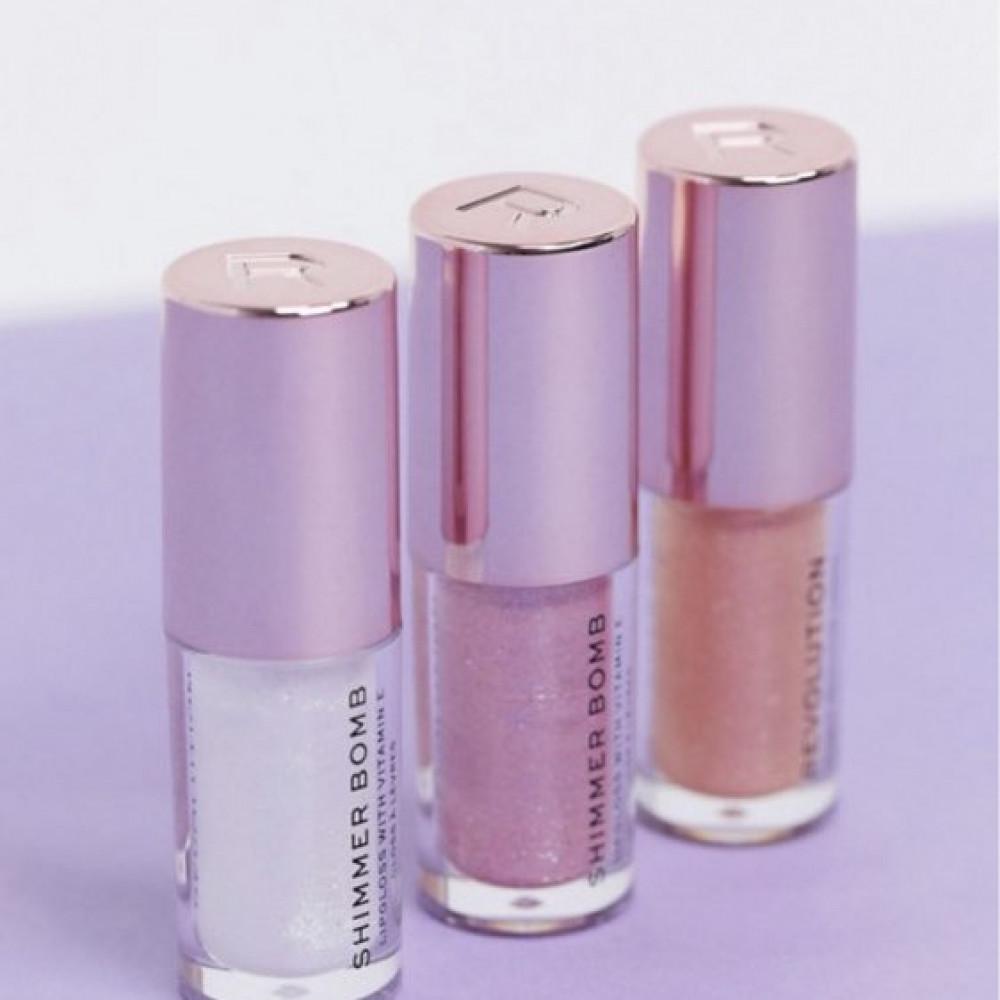 مجموعة قلوسات ريفلوشن Revolution Shimmer Bomb Lip Gloss Mini Collectio