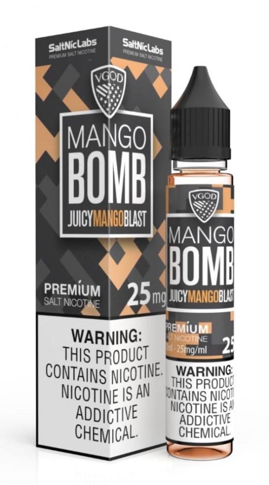 فيقود مانجو بومب سولت نيكوتين 25mg VGOD Mango Bomb Salt
