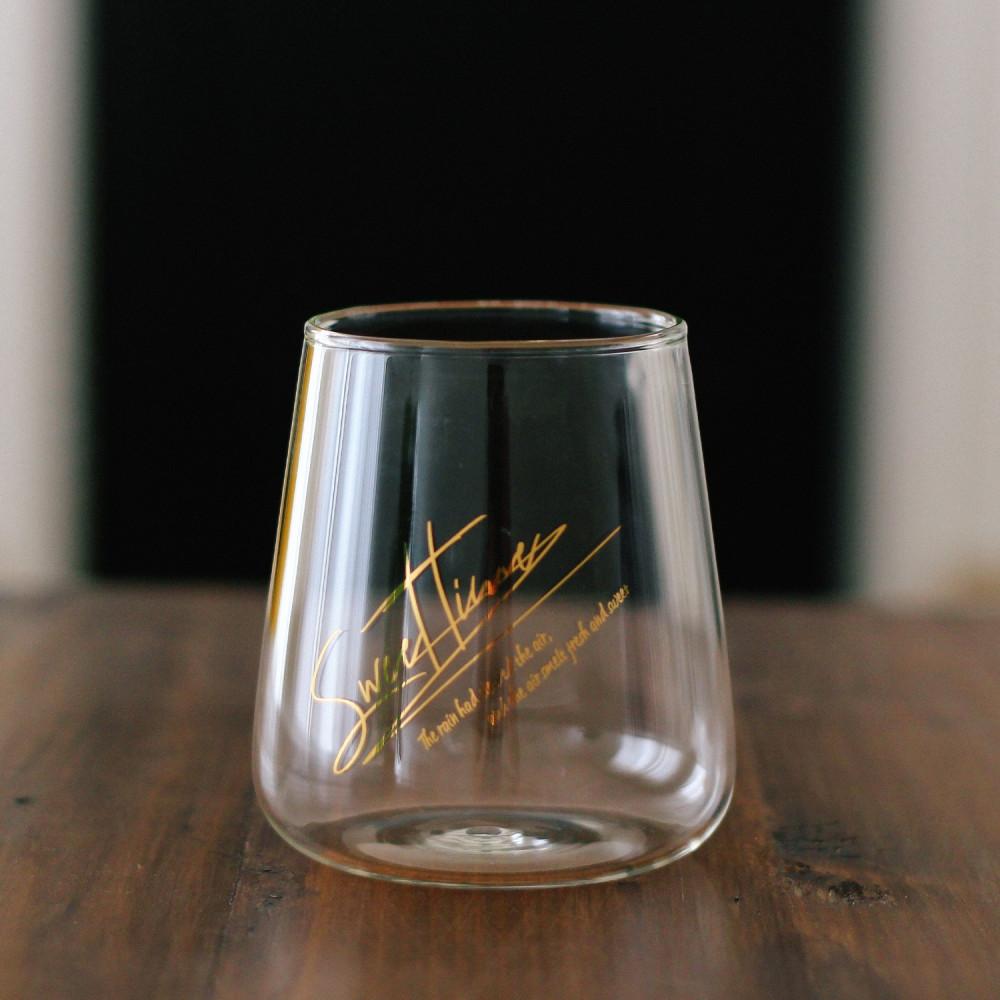 كأس عصير  كوب قهوة المختصة أدوات القهوة كوكتيل سموذي عصائر كوب زجاج