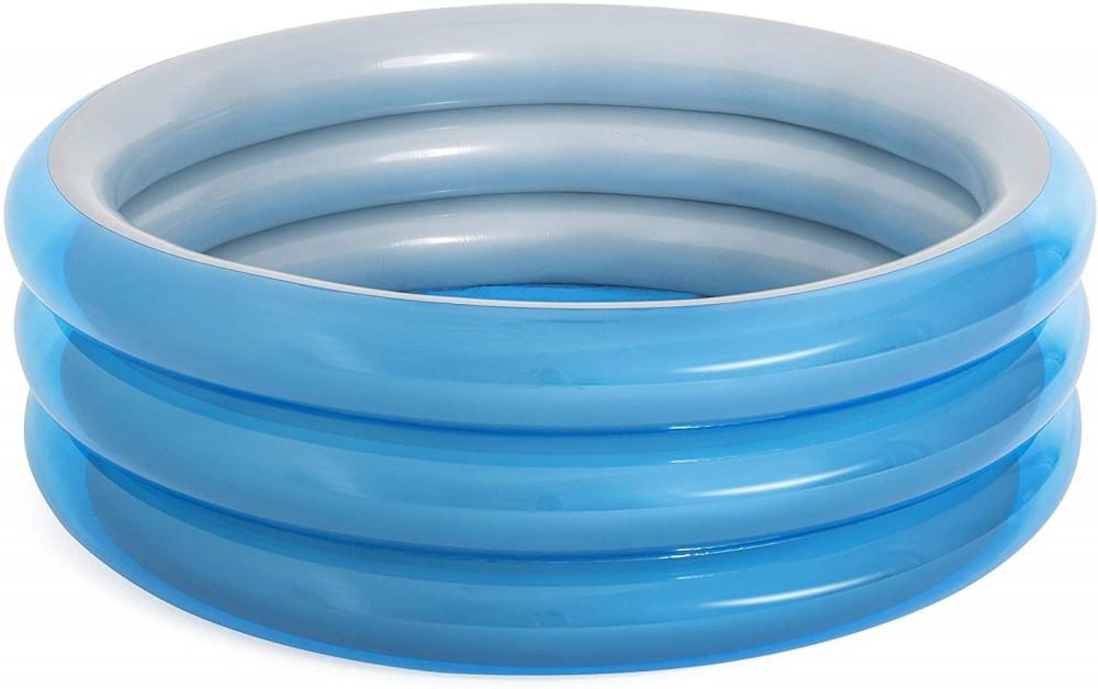 مسبح منزلي دائري قابل للنفخ بثلاث حلقات