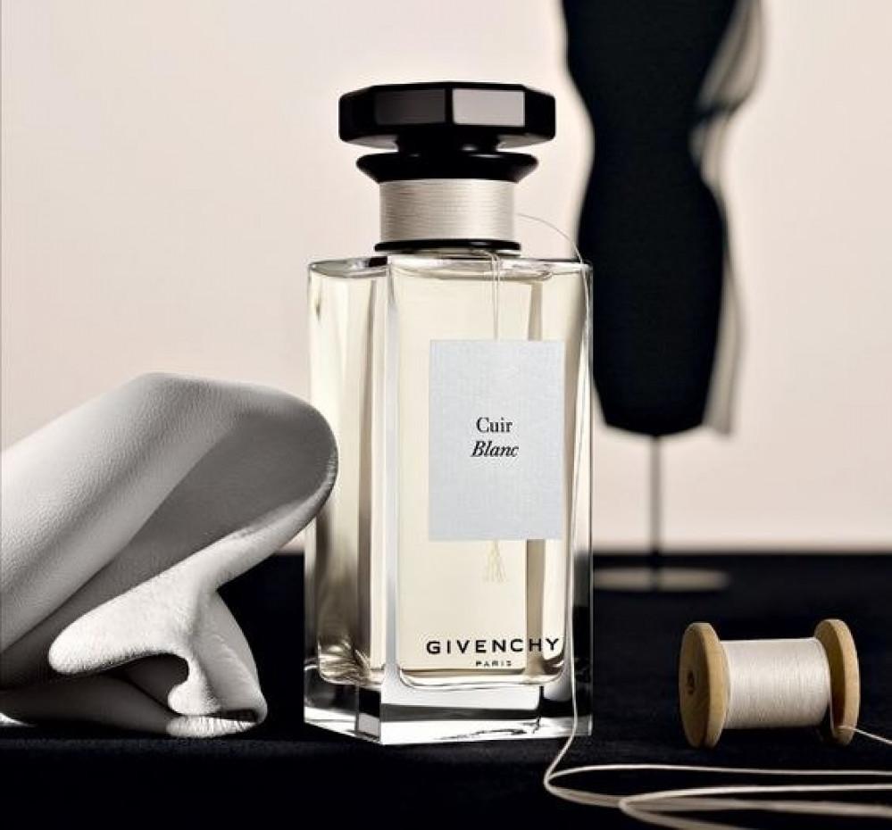 عطر جيفنشي الحصري  كيور بلانك exclusive Givenchy perfume cuir blanc