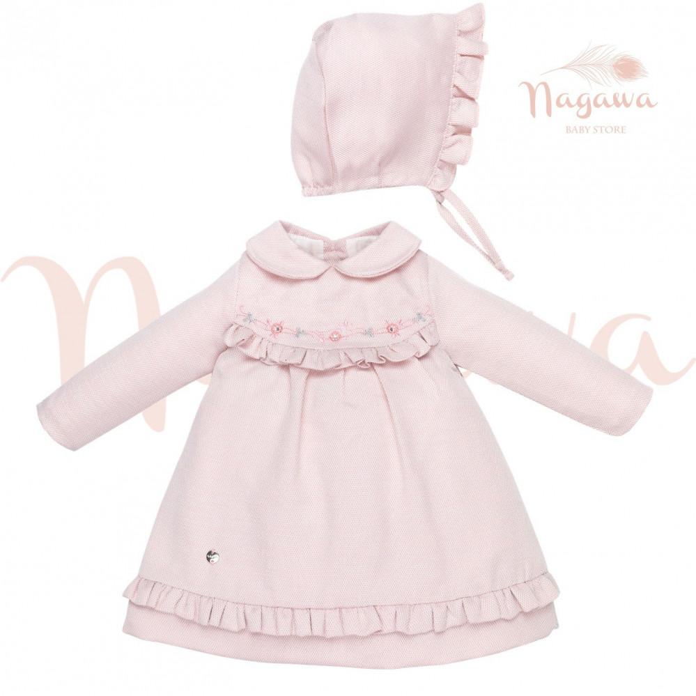 فستان-الشتاء-الوردي