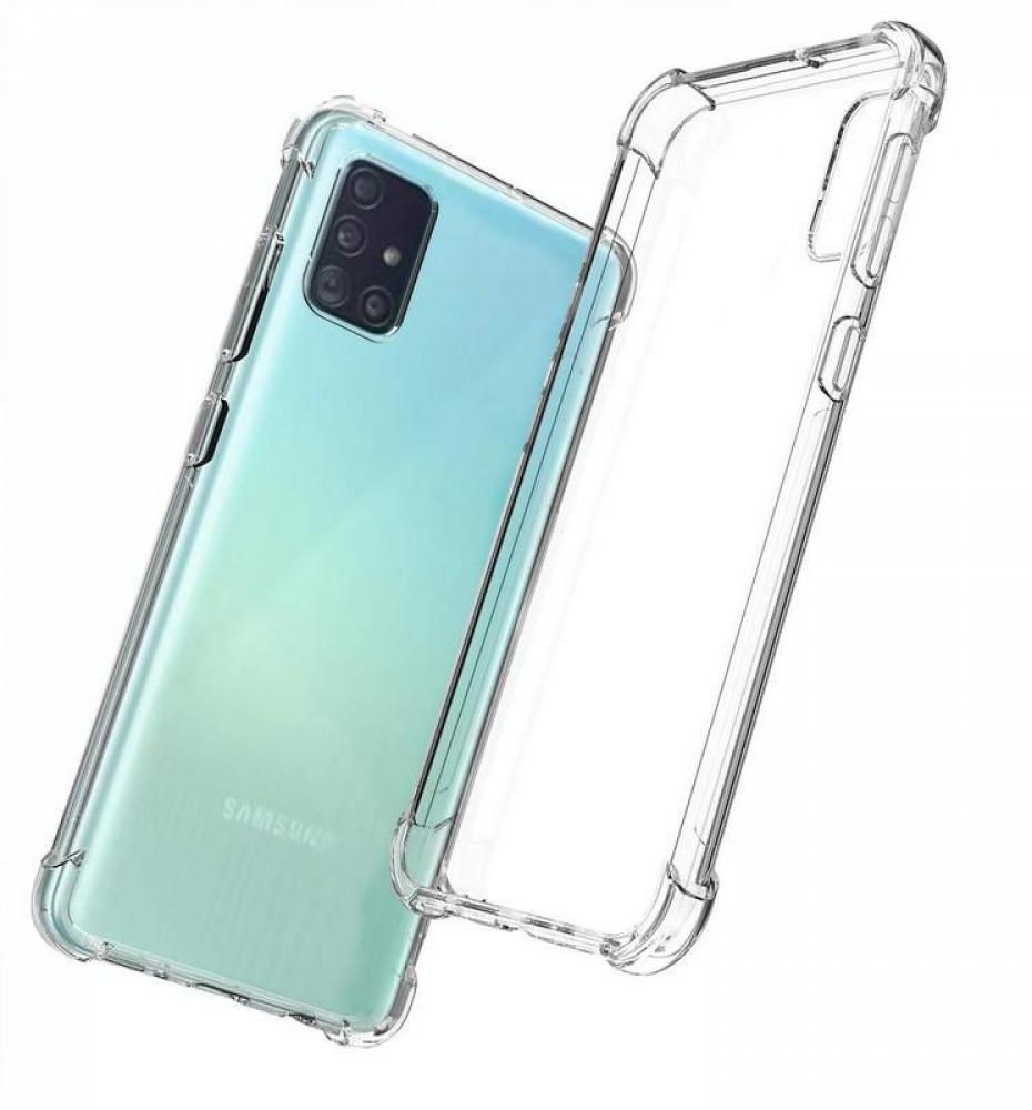 غطاء حماية شفاف لجهاز Samsung Galaxy A51