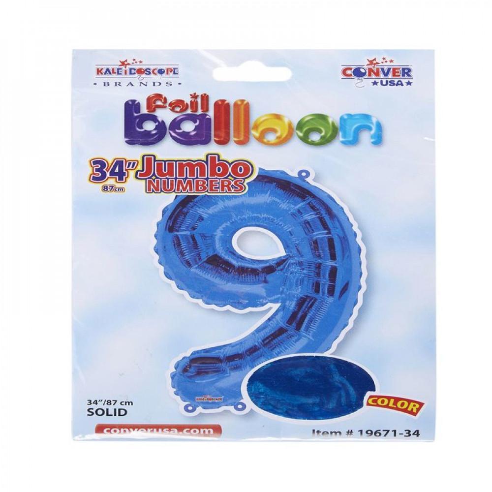 بالون أزرق, بالون رقم 9, Blue Balloon, بلونات أرقام