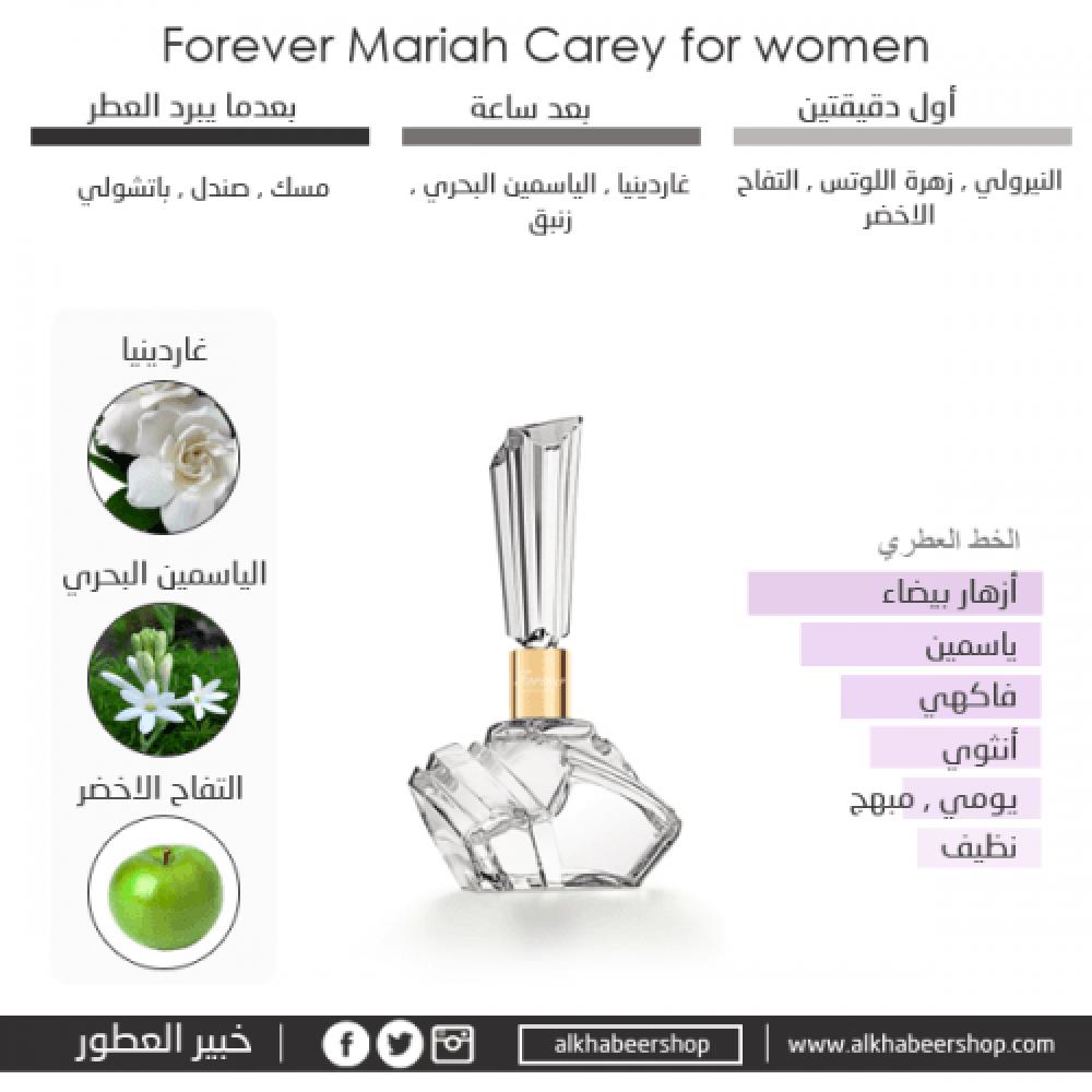 Mariah Carey Forever Eau de Parfum 100ml متجر خبير العطور