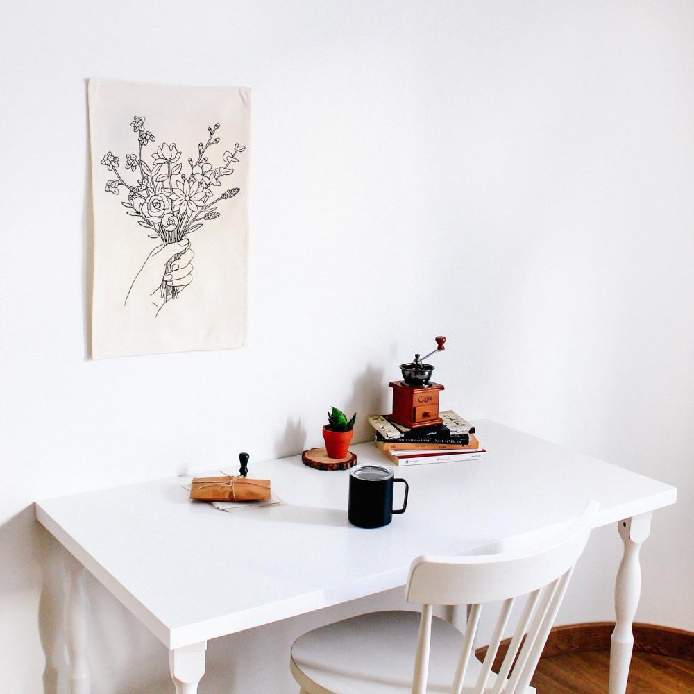 أفكار ديكور المنزل أفكار لتنسيق غرفة النوم باقة زهور ورد ديكور الصاله