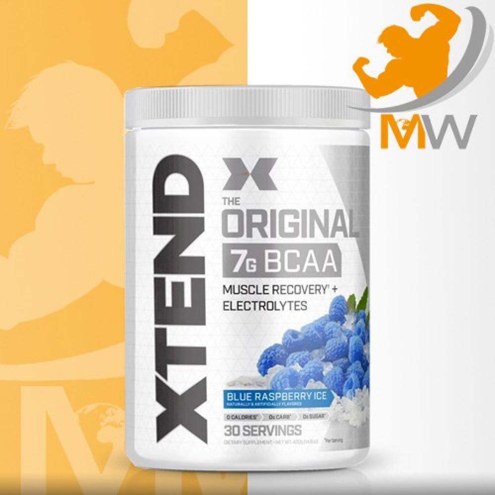 عالم العضلات muscles world مكملات غذائية احماض امينية xtend original