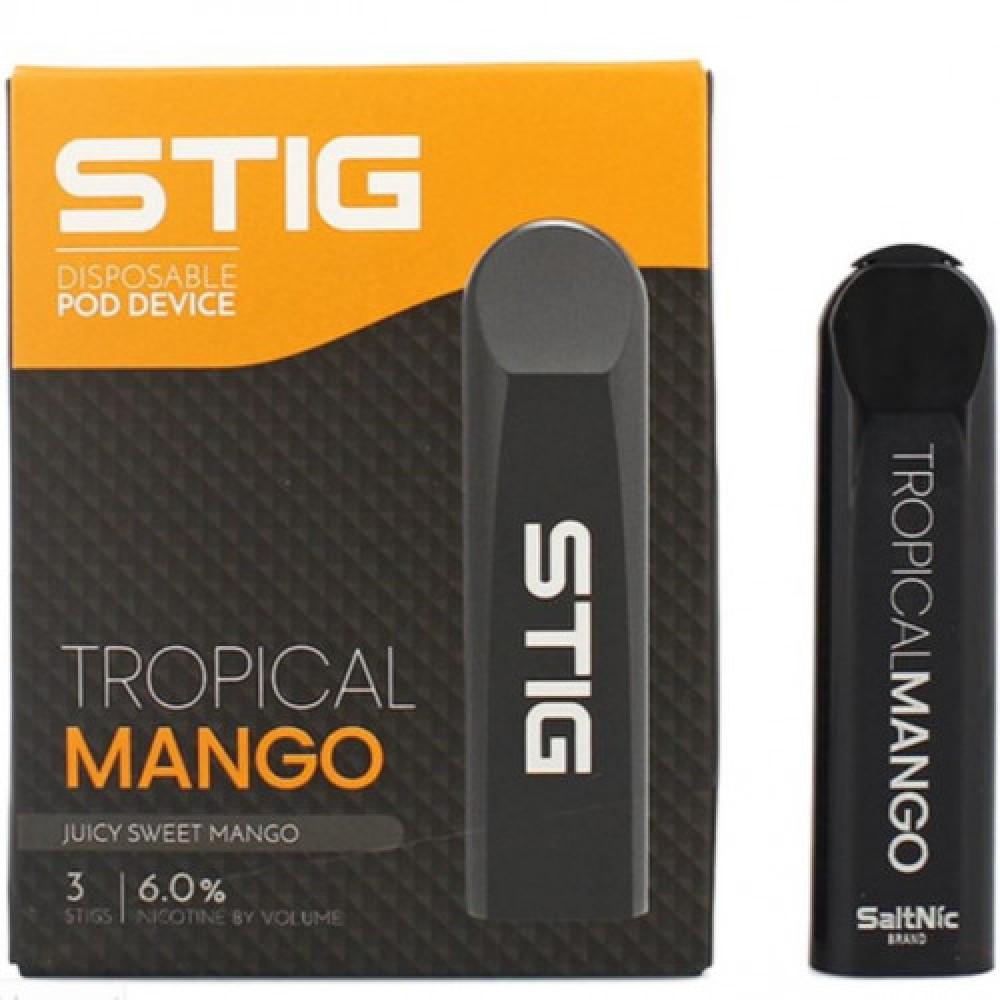 ستيق - ستيج تروبيكال مانجو - VGOD STIG TROPICAL MANGO - pack of 3