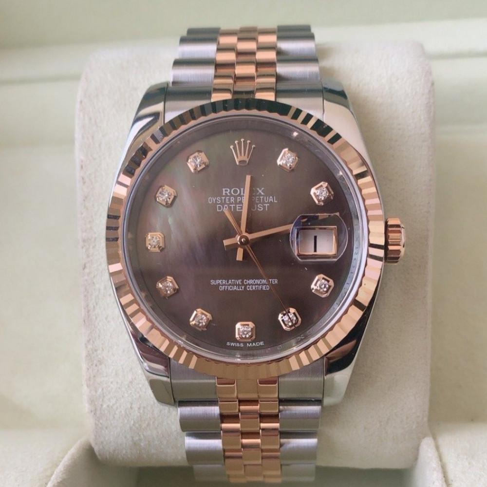 ساعة رولكس ديت جست الأصلية الثمينة مستخدمة 126231
