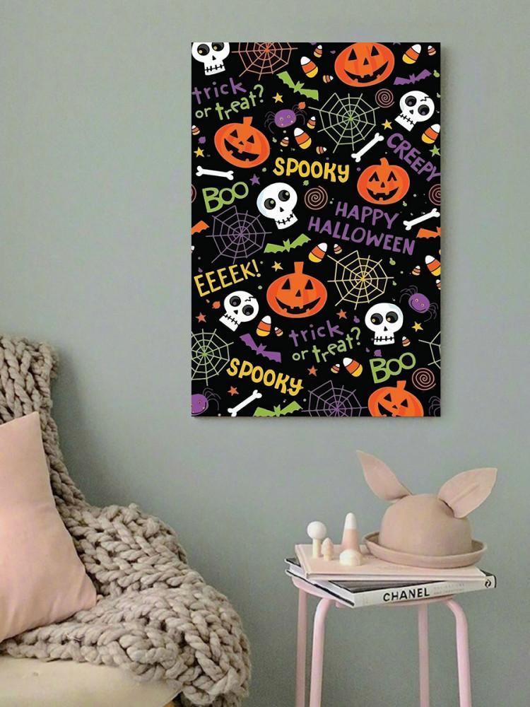 لوحة هالووين خشب ام دي اف مقاس 40x60 سنتيمتر