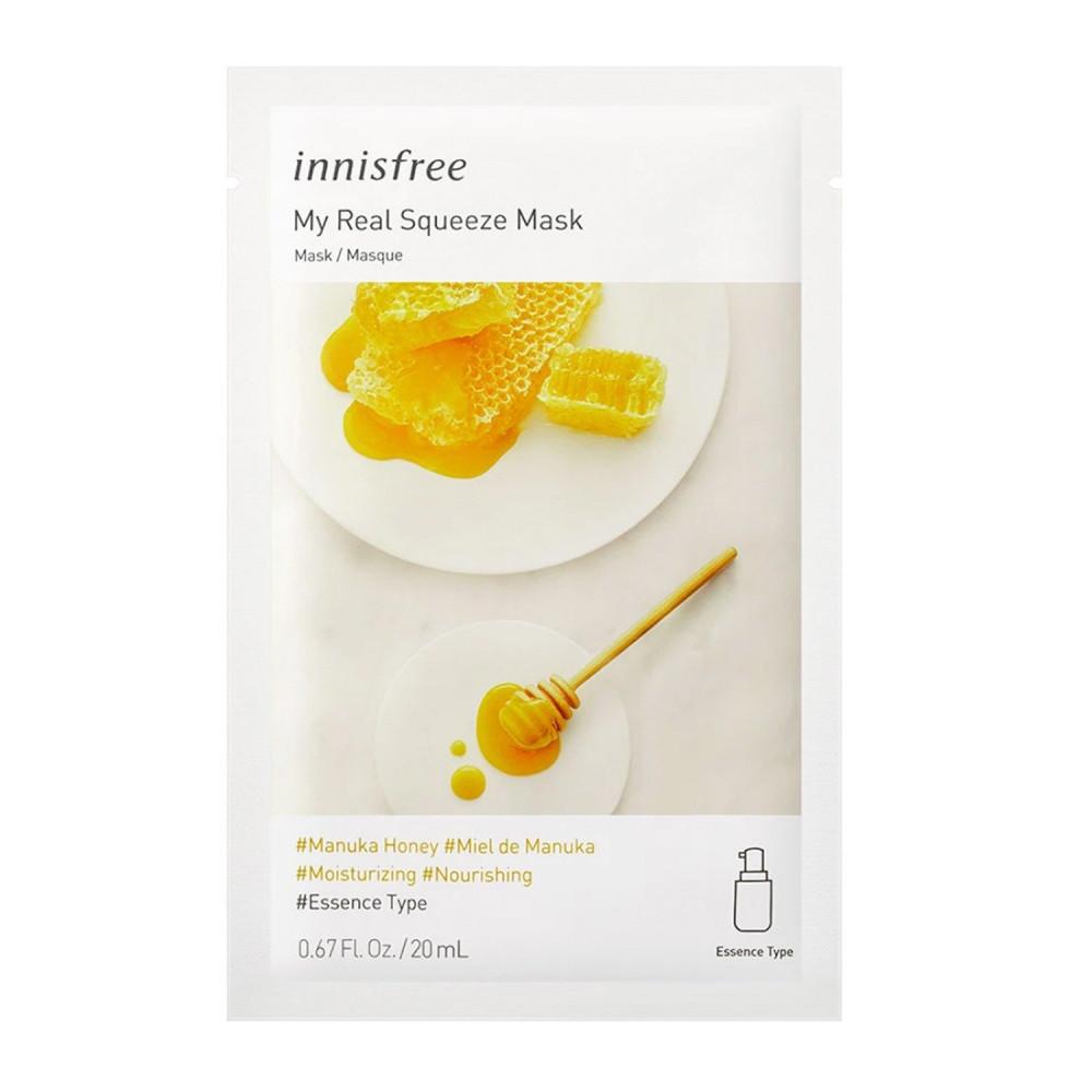 ماسك عسل المانوكا والكاميليا من Innisfree منتجات كورية ماسك الوجه متجر