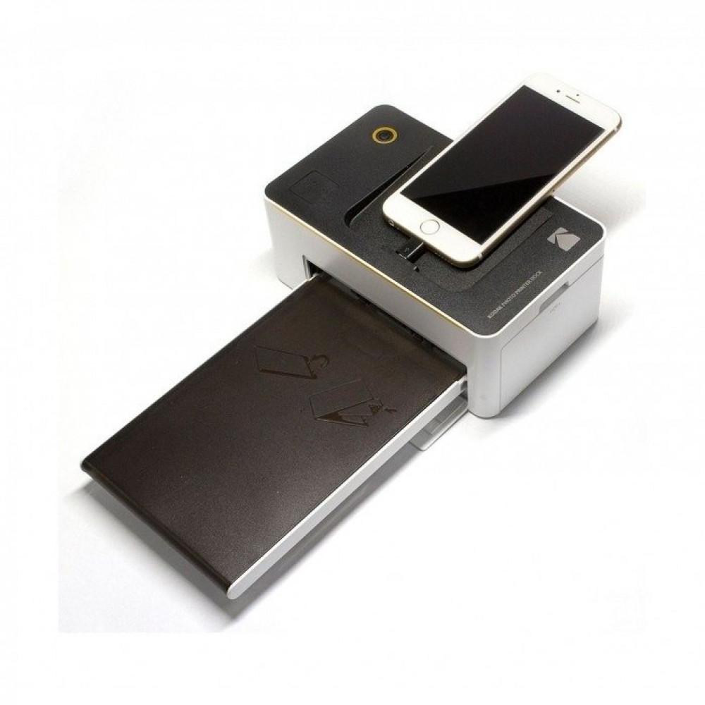 طابعة صور واي فاي كوداك اندرويد و ايفون بي دي 450 مع 20 ورقة مجانا