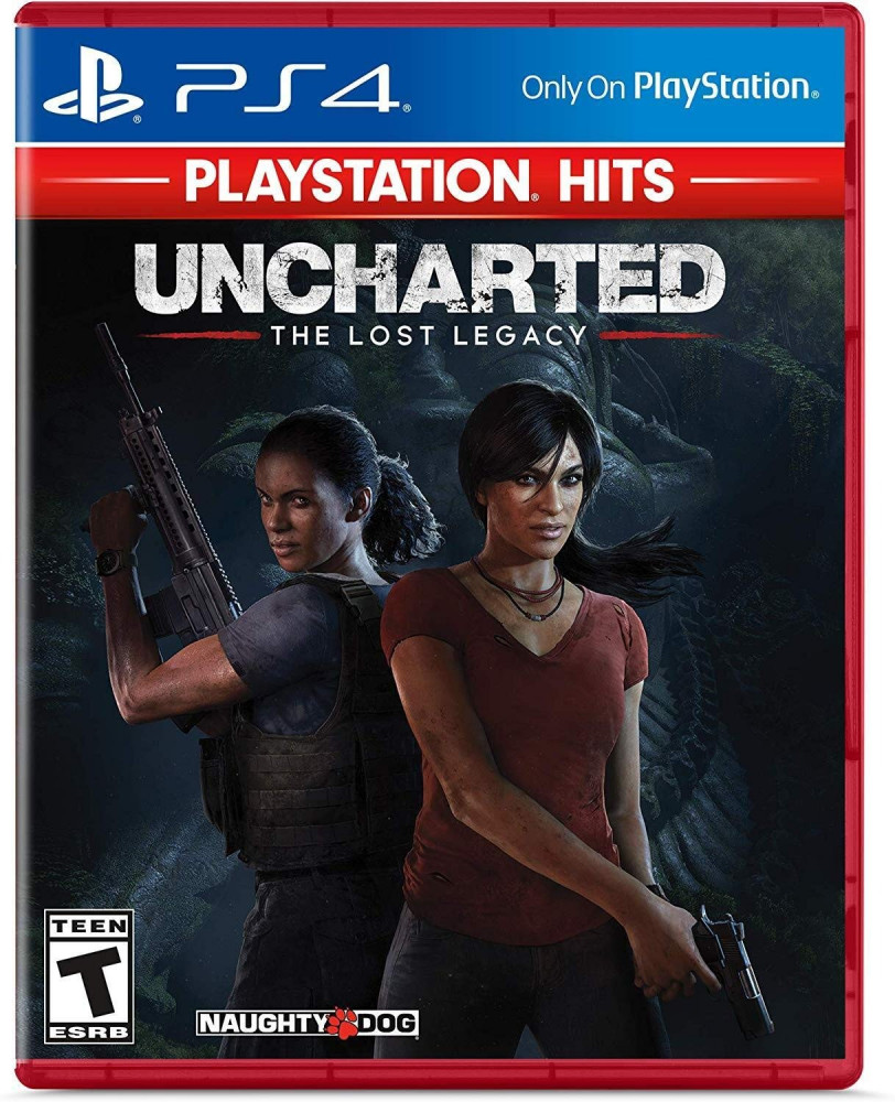 Uncharted The Lost Legacy Hits - PlayStation 4