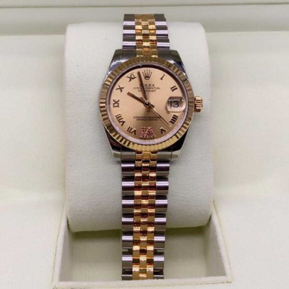 ساعة rolex ديت جست أصلية فاخرة مستعملة