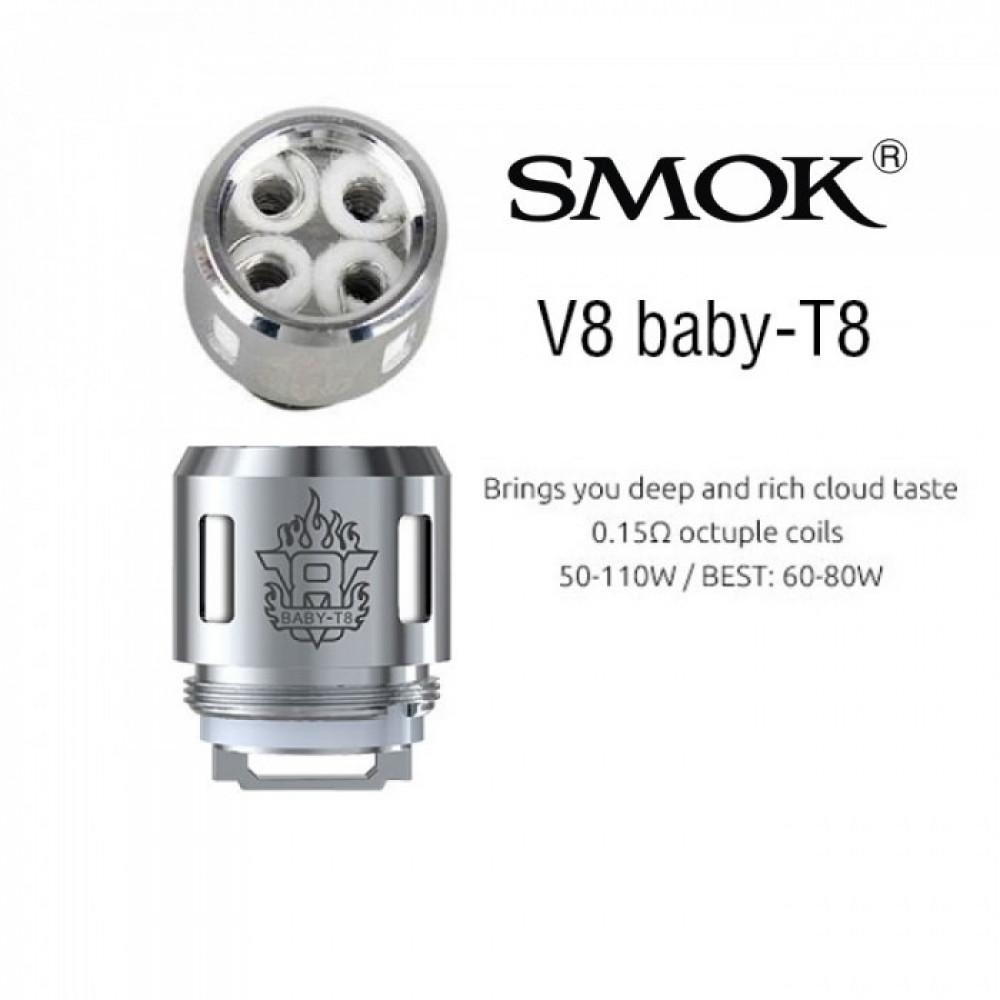 SMOK V8 BABY T8 كويلات سموك