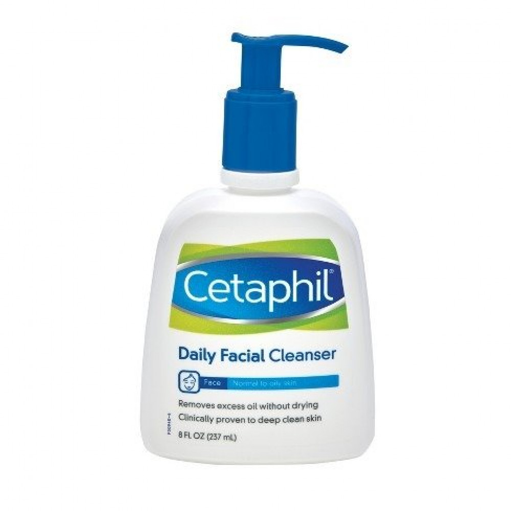 cetaphil سيتافيل منظف الوجة 237 مل افضل غسول بشرة غسول للبشرة المختلطة
