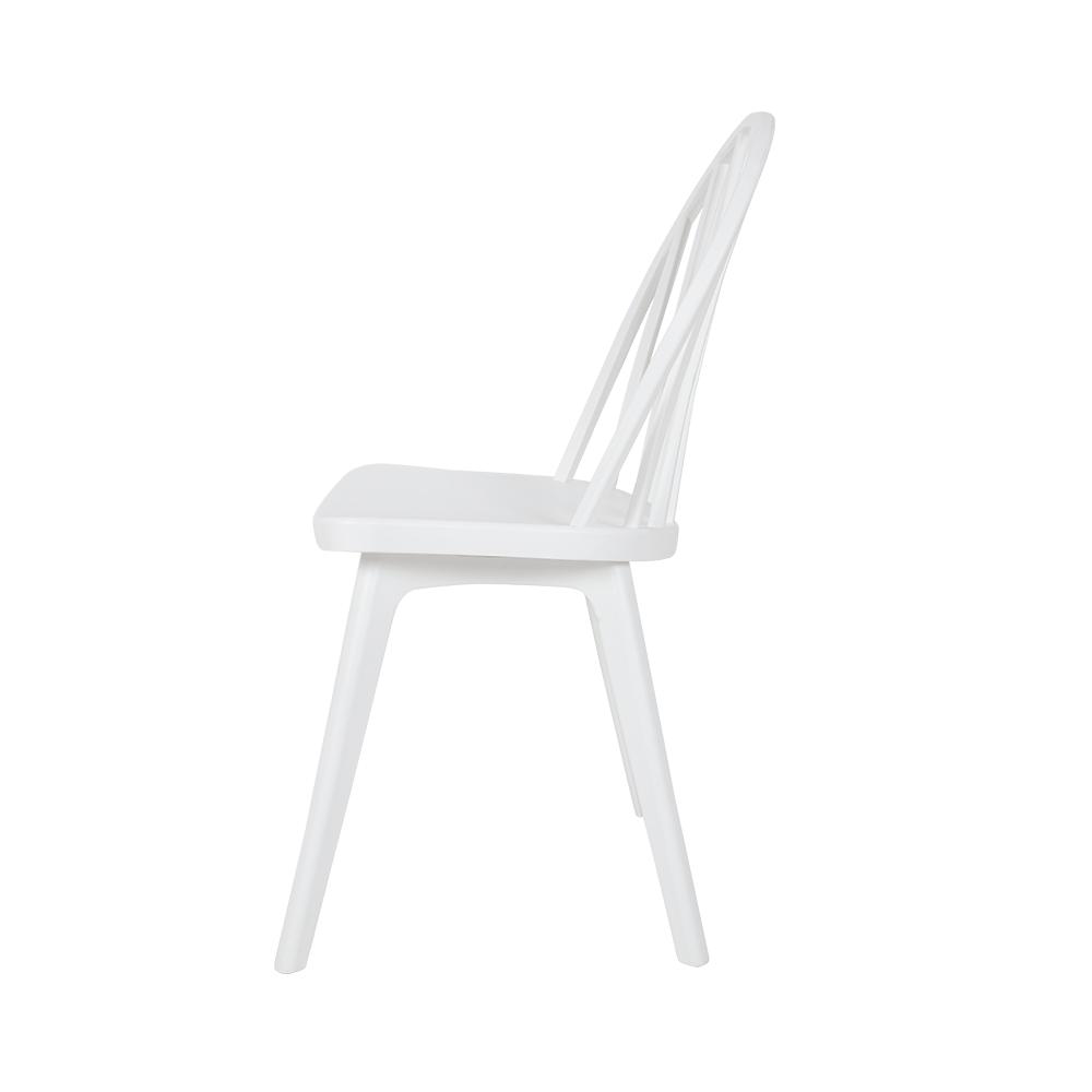 رؤية الكرسي من زاوية جانبية في طقم كراسي من البلاستيك PP من متجر مواسم