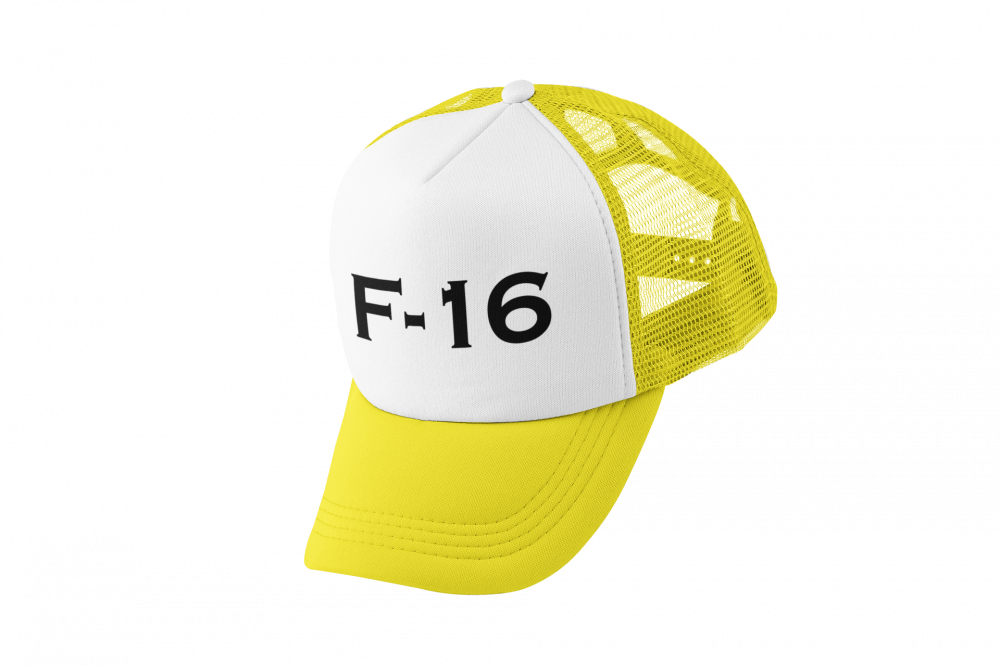 كاب طباعة برمز F-16