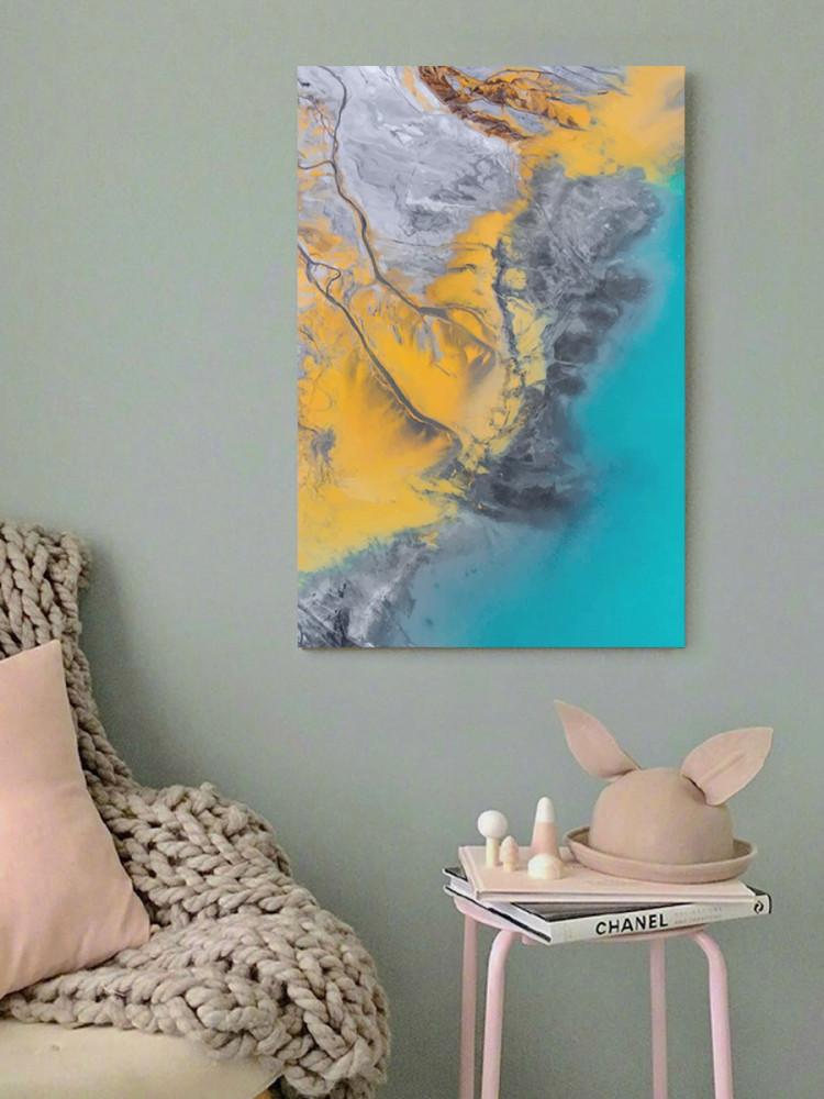 لوحة ايرث فيو خشب ام دي اف مقاس 40x60 سنتيمتر