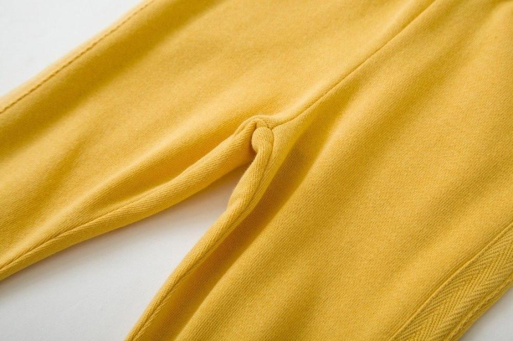 بنطال-أصفر-قطني