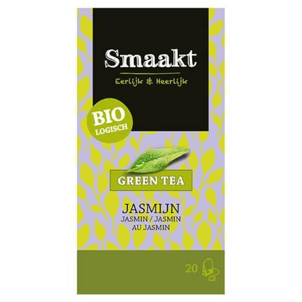شاي أخضر بالياسمين عضوي فرط