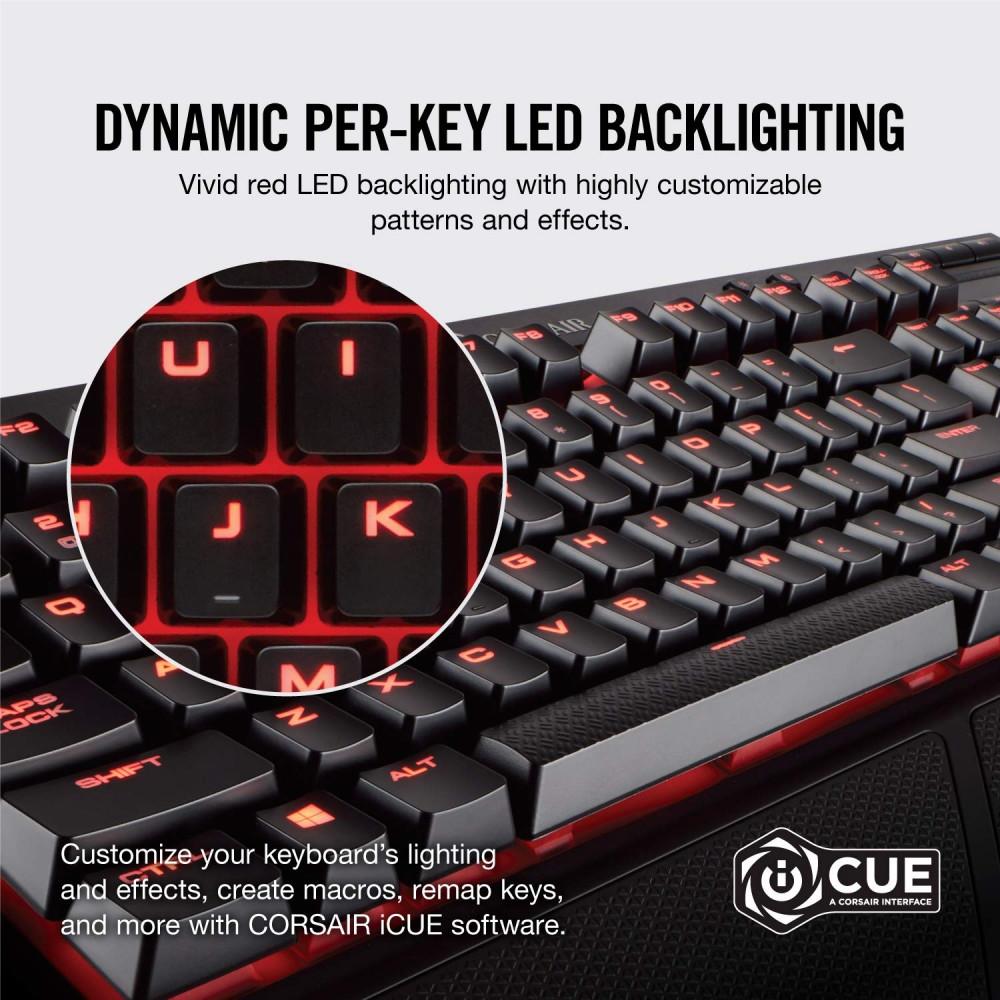 CORSAIR K68 Red LED
