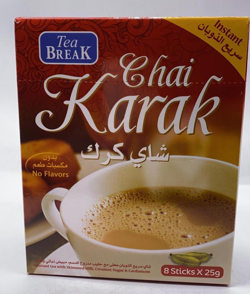 شاي كرك بالهيل 25 جرام , tea break - متجر السماح لبيع القهوة
