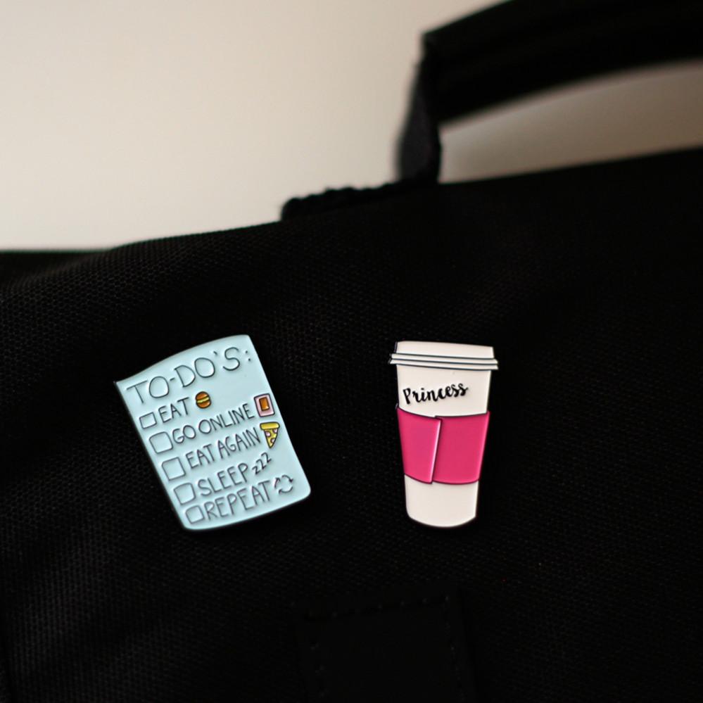 بروش بروشات دبابيس نسائية دبوس أزياء المرأة حقيبة مدرسية المدرسة
