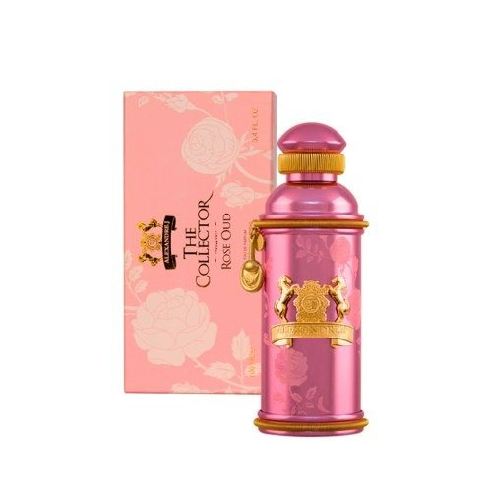 Alexandre j The Collector Rose Oud Eau de Parfum 100ml خبير العطور