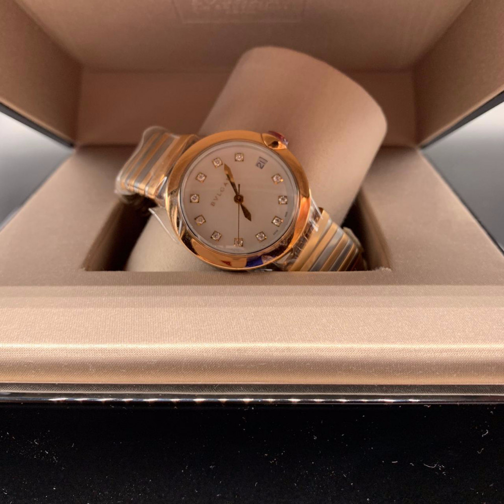 ساعة بولغري لوسيا الأصلية الثمينة مستعملة