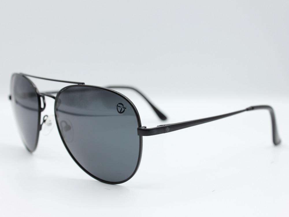 نظارة شمسية تصميم العدسه كلاسيك من ماركة TAGO اللون اسود رجالية فاخرة