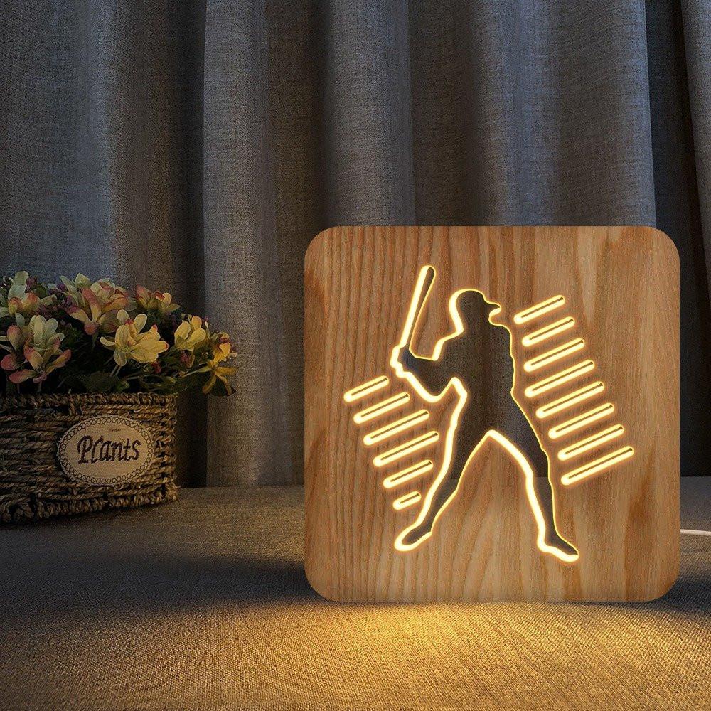 مواسم تحفة فنية مضيئة إضاءة ليد مزودة بقاعدة مناسبة للمنزل أو المكتب