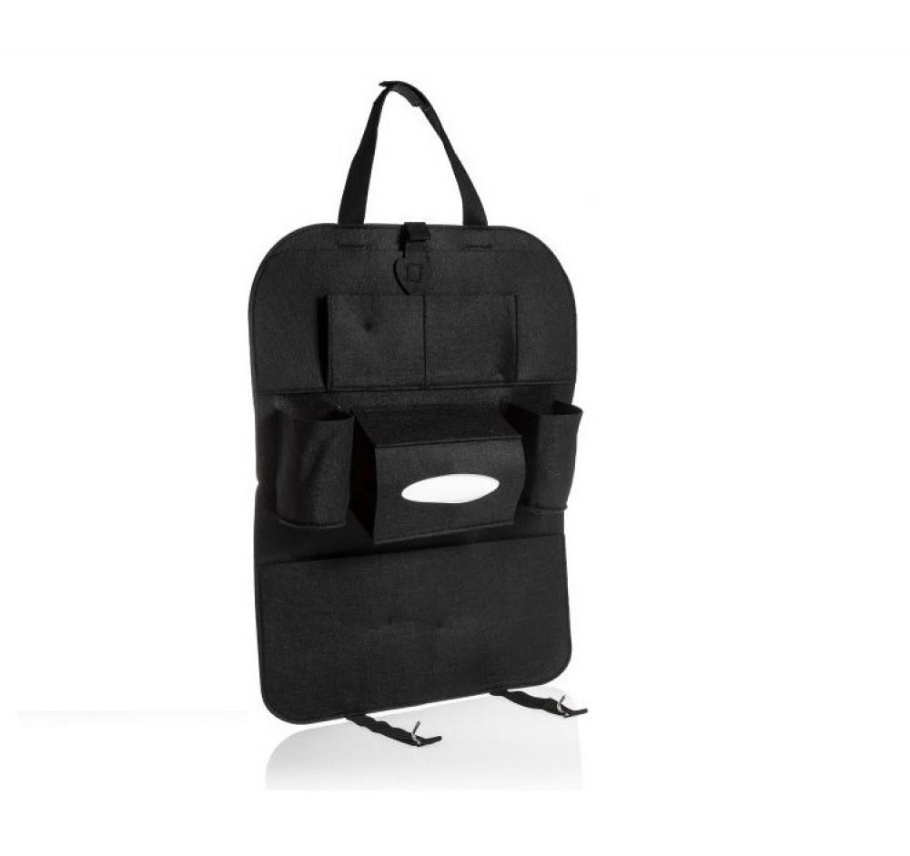 حقيبة تخزين 7 جيوب متعددة الوظائف لمقعد السيارة من الجلد لسلع عائلتك ع
