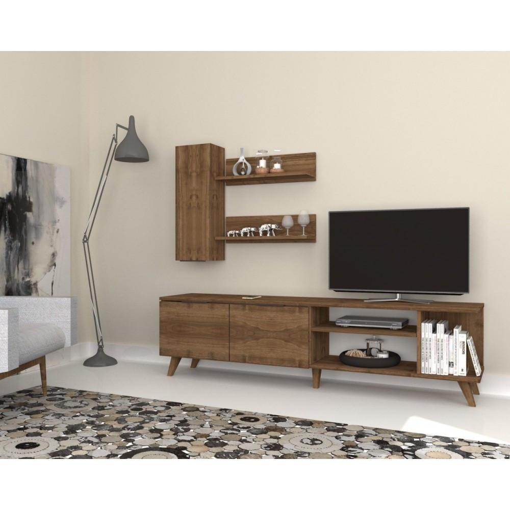 طاولة تلفاز خشب