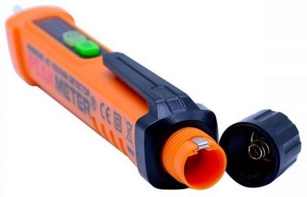 قلم كاشف التيار الكهربائي دون لمس من 12 حتي 1000 فولت التيار المتناوب