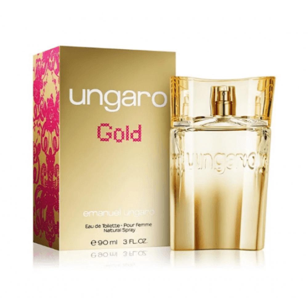 Tester Ungaro Ungaro Gold Women Eau de Toilette 90ml متجر خبير العطور