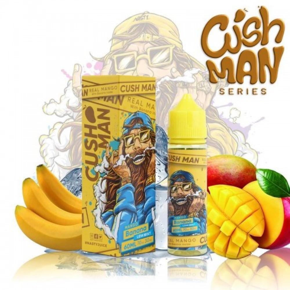 نكهة كاش مان مانجو موز - CUSH MAN MANGO Banana  - 60ML