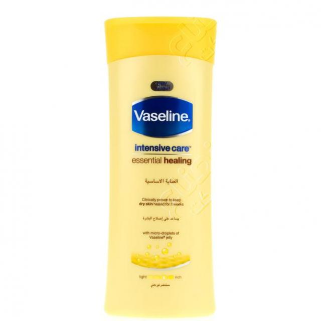 لوشن العناية الاساسية بالعسل من فازلين 200مل   Vaseline Honey Essentia