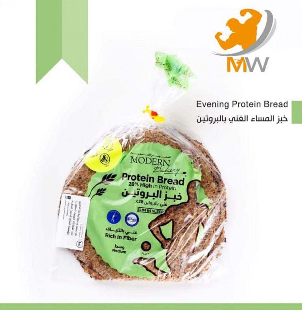 عالم العضلات مكملات غذائية مخبوزات خبز البرجر عالي البروتين فرنسية الم