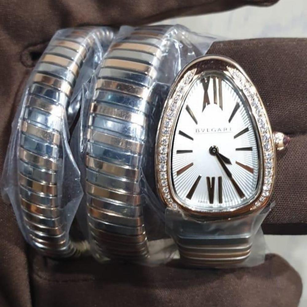 ساعة bvlgari سيربنتي أصلية فاخرة الجديدة