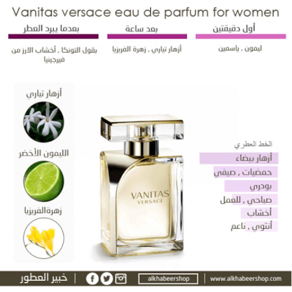 Versace Vanitas Eau de Parfum 100ml خبير العطور